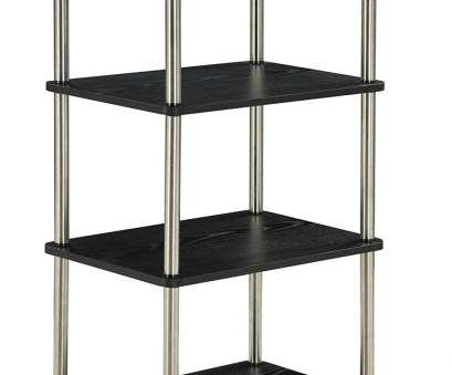 wire shelving units homebase Amazon.com: Convenience Concepts Designs2Go 4-Tier Bookshelf/Media Tower, Black: Kitchen & Dining Wire Shelving Units Homebase Popular Amazon.Com: Convenience Concepts Designs2Go 4-Tier Bookshelf/Media Tower, Black: Kitchen & Dining Ideas