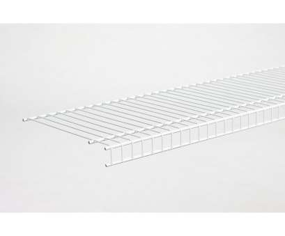 wire shelving with wheels lowes Shop ClosetMaid 6-ft, 12-in D White Wire Shelf at Lowes.com 11 Fantastic Wire Shelving With Wheels Lowes Galleries