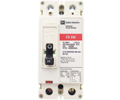 wire size 6 amps Details about CUTLER HAMMER FD2090 CIRCUIT BREAKER, 600-VOLT, 2-POLE, 90-AMP, TYPE FD Wire Size 6 Amps Creative Details About CUTLER HAMMER FD2090 CIRCUIT BREAKER, 600-VOLT, 2-POLE, 90-AMP, TYPE FD Pictures