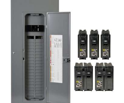 wire size 60 amp service Homeline, Amp 40-Space 80-Circuit Indoor Main Breaker Qwik-Grip Plug-On Neutral Load Center with Cover, Value Pack Wire Size 60, Service New Homeline, Amp 40-Space 80-Circuit Indoor Main Breaker Qwik-Grip Plug-On Neutral Load Center With Cover, Value Pack Pictures