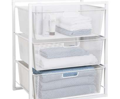 wire storage shelves nz Mesh Drawer Baskets White 3 Tier from Storage Box 19 Fantastic Wire Storage Shelves Nz Photos