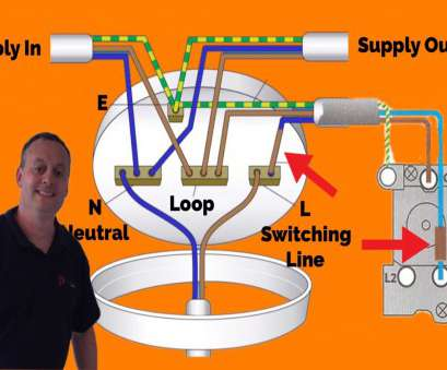 wiring a ceiling light loop 3 Plate Loop-In Method Connections Explained, Wiring a Domestic Lighting Circuit Wiring A Ceiling Light Loop Practical 3 Plate Loop-In Method Connections Explained, Wiring A Domestic Lighting Circuit Ideas