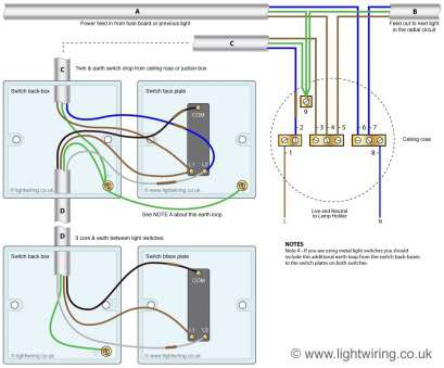 10 Top Wiring A Ceiling Light With 2, Switch Photos