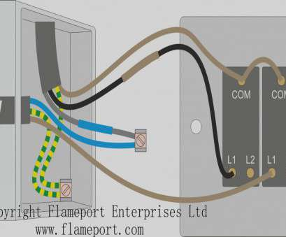 wiring a new double light switch Colorful Wiring Diagram, A Double Light Switch Ensign 9 Popular Wiring A, Double Light Switch Photos
