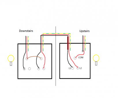 Wiring A, Double Light Switch Simple Wire A Double Light Switch Extraordinary Wiring Diagram, On Photos