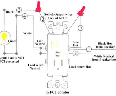 11 Fantastic Wiring A Gfci Outlet With A Light Switch Diagram Collections