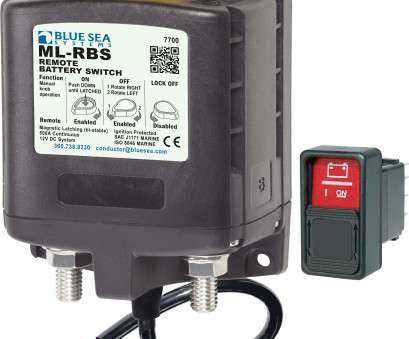 Wiring A Remote Switch, Your Amp Best ML-RBS Remote Battery Switch With Manual Control -, DC 500A Ideas