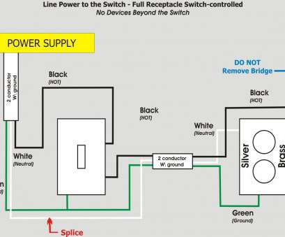 wiring a split switched outlet Wiring Diagram, To Wire A Split Receptacle Controlled By At 3 Wiring A Split Switched Outlet Top Wiring Diagram, To Wire A Split Receptacle Controlled By At 3 Collections