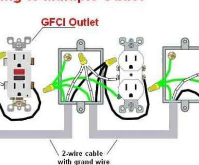 Wiring Diagram, Multiple Gfci Outlets Cleaver Multiple Gfci Outlet Wiring Diagram, Wiring A Lamp Post With An Galleries