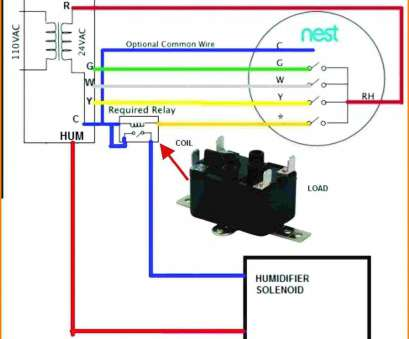 15 Popular Wiring Diagram, Nest Thermostat With Humidifier Pictures