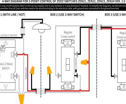 13 Creative Wiring, Way Switch With Dimmer Diagram Photos