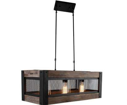 Wood, Wire Pendant Light Fantastic Rectangular Wood Shade With Wire Mesh Farmhouse Pendant Ceiling Light Photos