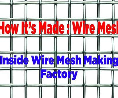13 New Woven Wire Mesh Manufacturing Process Images