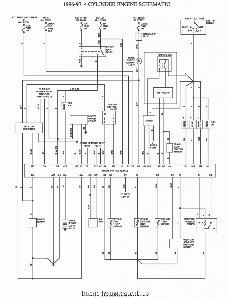 Toyota Corolla Electrical Wiring Diagram Creative Toyota