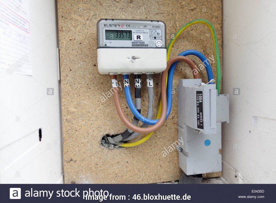 types of electrical wire uk A domestic electricity meter housed in an external box, Scotland, UK, Stock Image 10 Professional Types Of Electrical Wire Uk Pictures