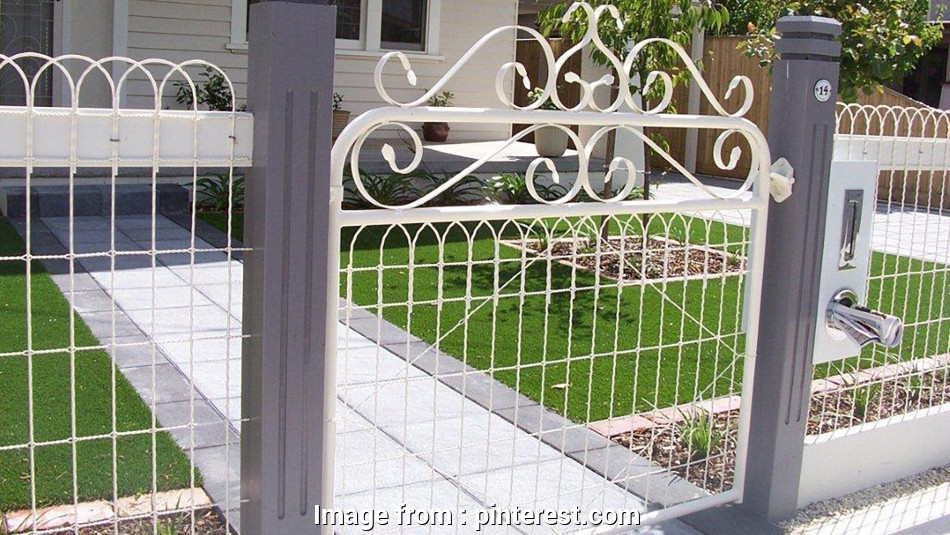 Victorian Wire Mesh Fence New 1940 U0026 39 S Style Chain Link House Fences In Victoria  Australia