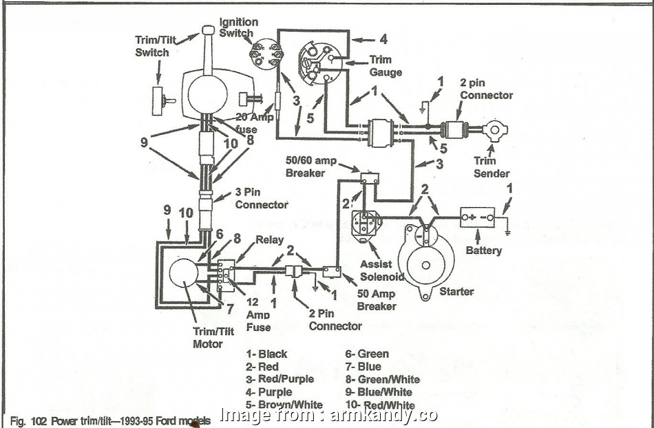 Volvo Penta Ignition Switch Wiring Diagram