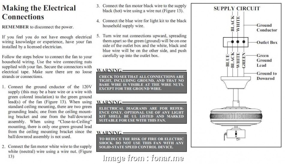 What Is  Red Electrical Wire  On A Ceiling Fan New Hunter Ceiling  Wiring Diagram  Wire Sample
