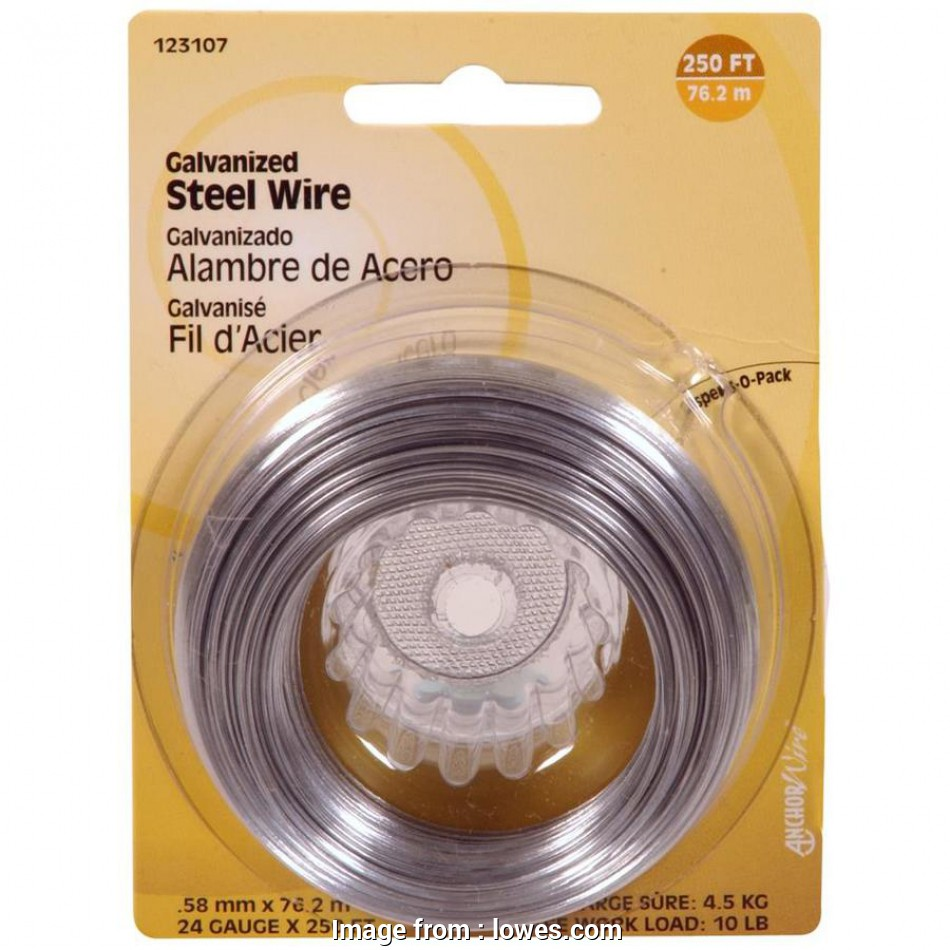 where to buy 24 gauge wire Shop Hillman 24-Gauge Galvanized Steel Wire at Lowes.com Where To, 24 Gauge Wire Simple Shop Hillman 24-Gauge Galvanized Steel Wire At Lowes.Com Ideas