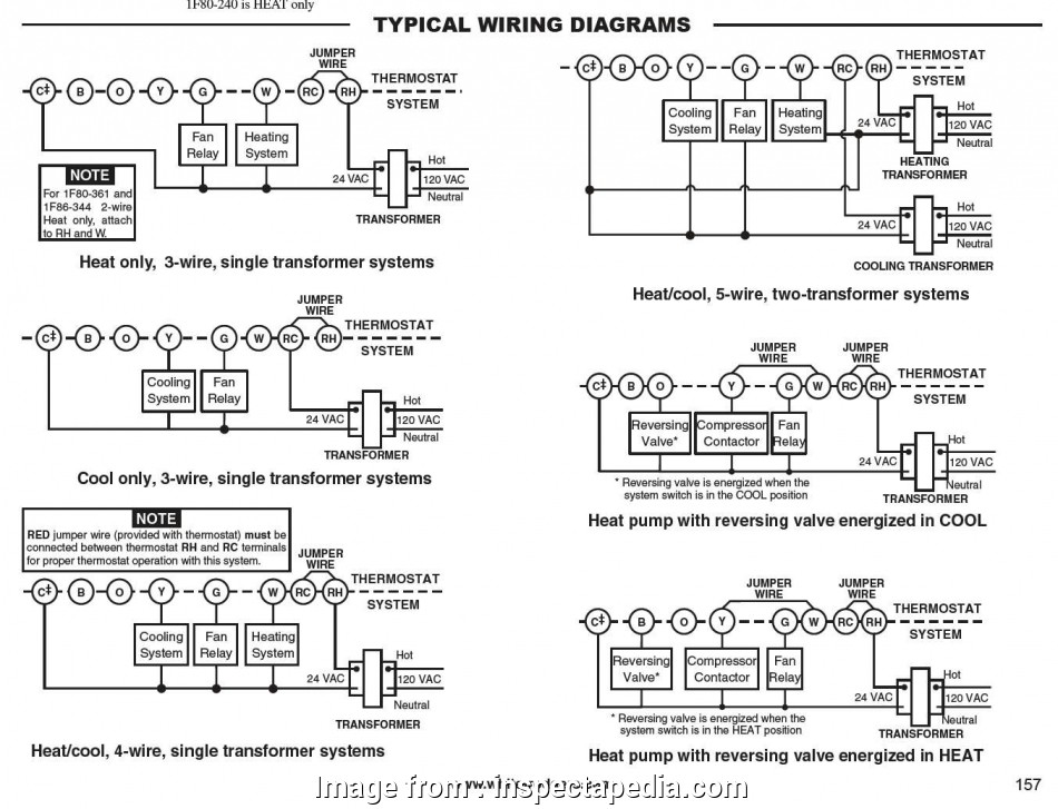 White Rodgers Thermostat Wiring Diagrams Simple Emerson