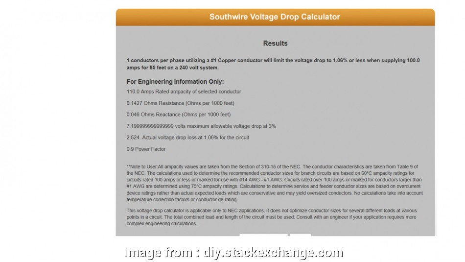 wire gauge combination calculator electrical, Wire Selection, a detached shop, Home Improvement Wire Gauge Combination Calculator Popular Electrical, Wire Selection, A Detached Shop, Home Improvement Images