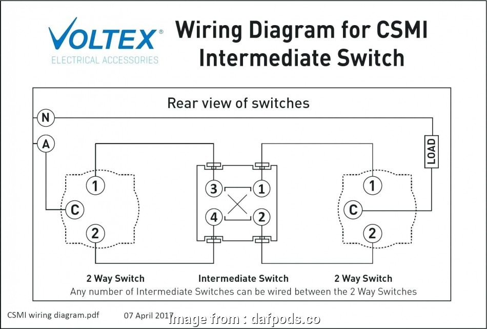 Wiring A Ceiling Light With 2  Switch Perfect Intermediate