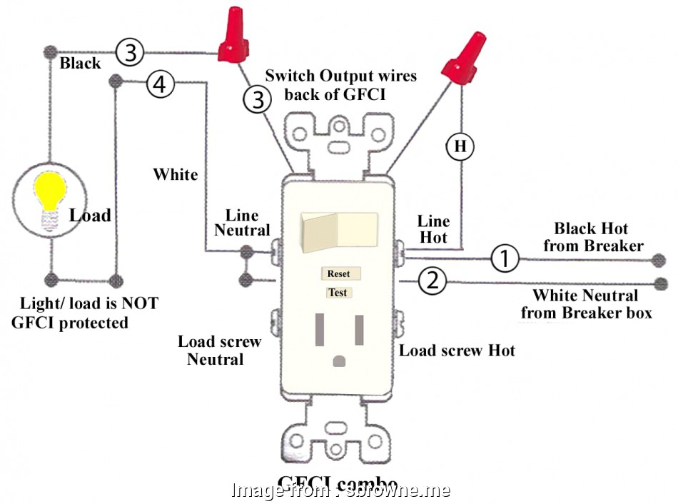 Wiring A Gfci Switch Top Ground Fault Circuit Interrupter