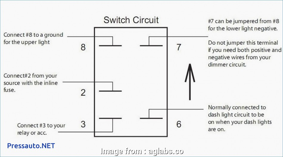 Wiring A Lighted Toggle Switch Diagram Creative Lighted