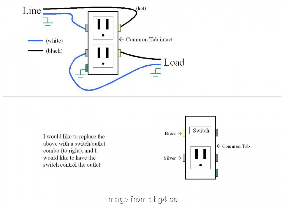 Diagram Wiring A Switch To A Light An Outlet Brilliant Need