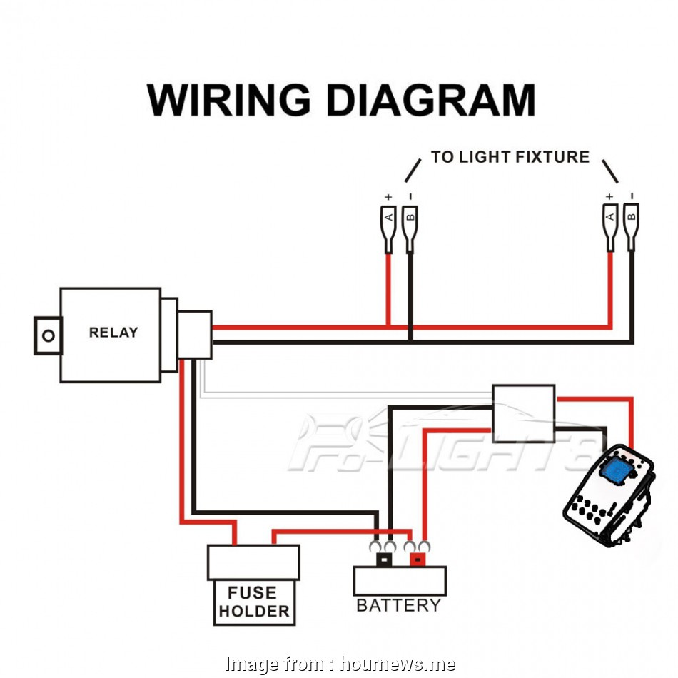 Wiring A  Switch With Led Simple Wiring Diagram  12v