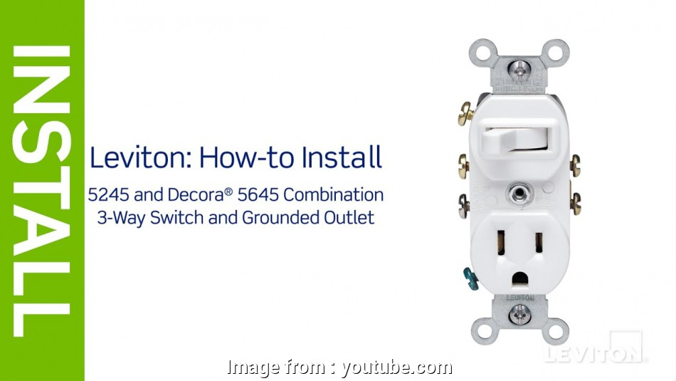 Wiring A Switched Outlet Combo Cleaver Leviton Presents   To Install A Combination Device With A
