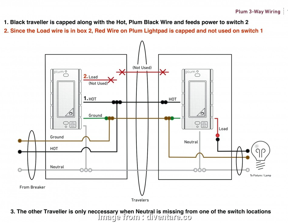 Wiring Diagram, 2, Switch Practical Staircase Wiring ...