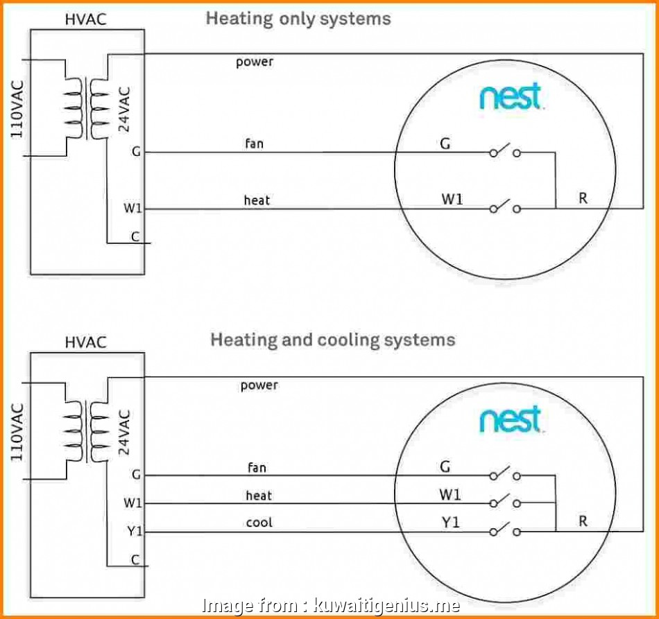 12 Fantastic Wiring Diagram  Nest Thermostat Uk Solutions