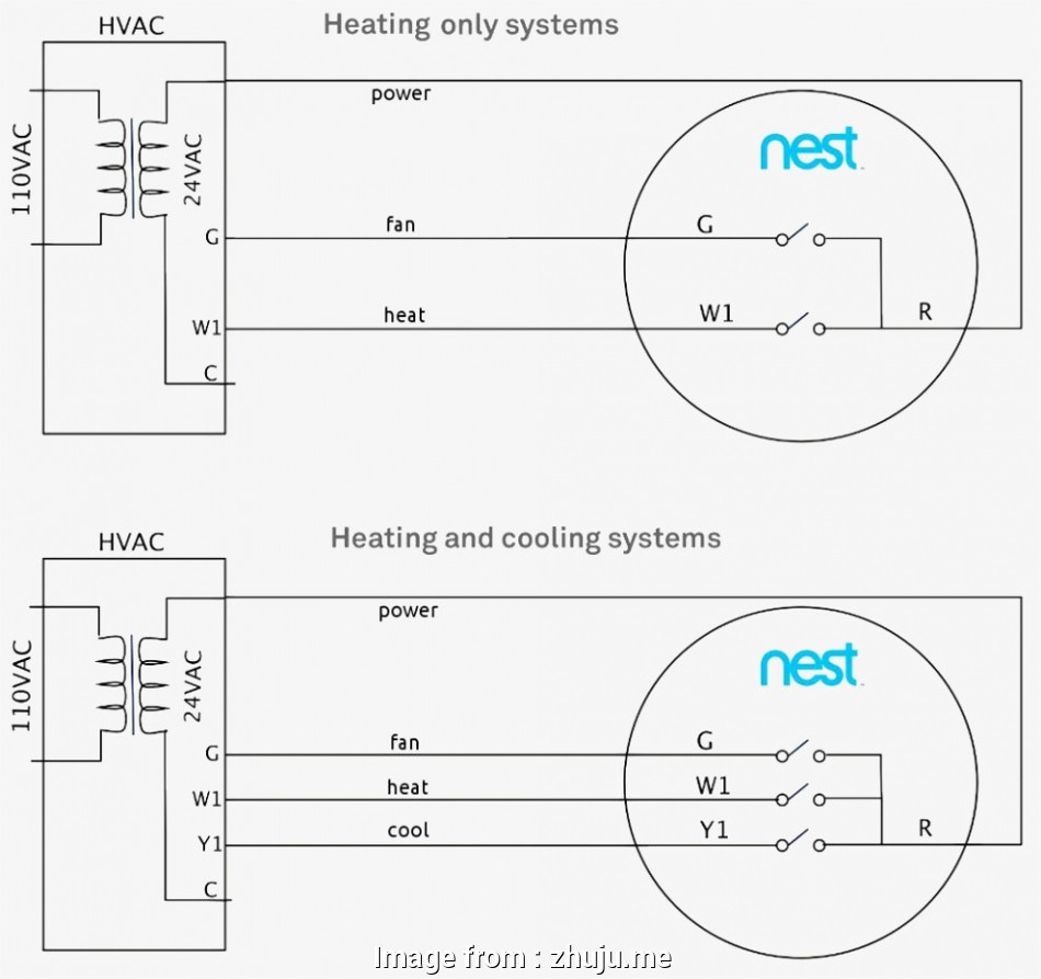 Nest Thermostat Wiring Diagram - Database