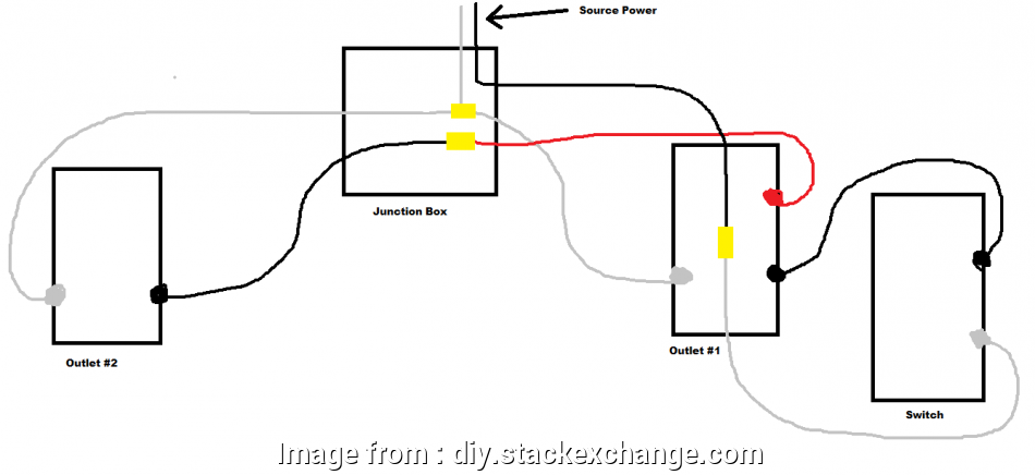 wiring diagram of a switched outlet EDIT: Does this diagram look correct? Switch Diagram · electrical wiring switch receptacle 12 Cleaver Wiring Diagram Of A Switched Outlet Galleries