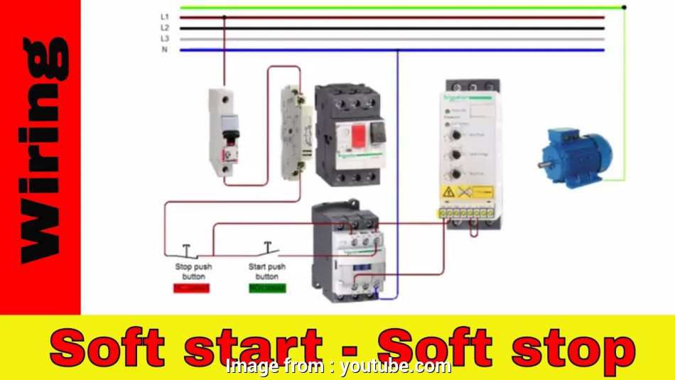 wiring diagram softstarter How to wire Soft Starter, contactor. v.1 Wiring Diagram Softstarter Practical How To Wire Soft Starter, Contactor. V.1 Pictures