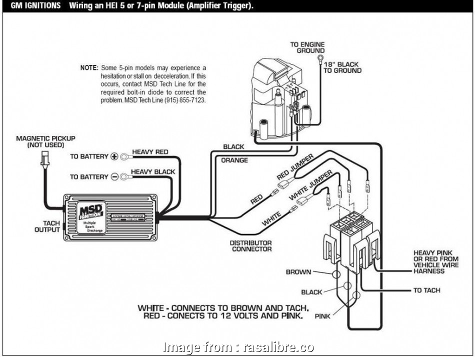 Wiring Diagrams  Msd  Ignition Simple Msd  Hei Wiring Diagram Gm Wiring Diagram U2022 Rh