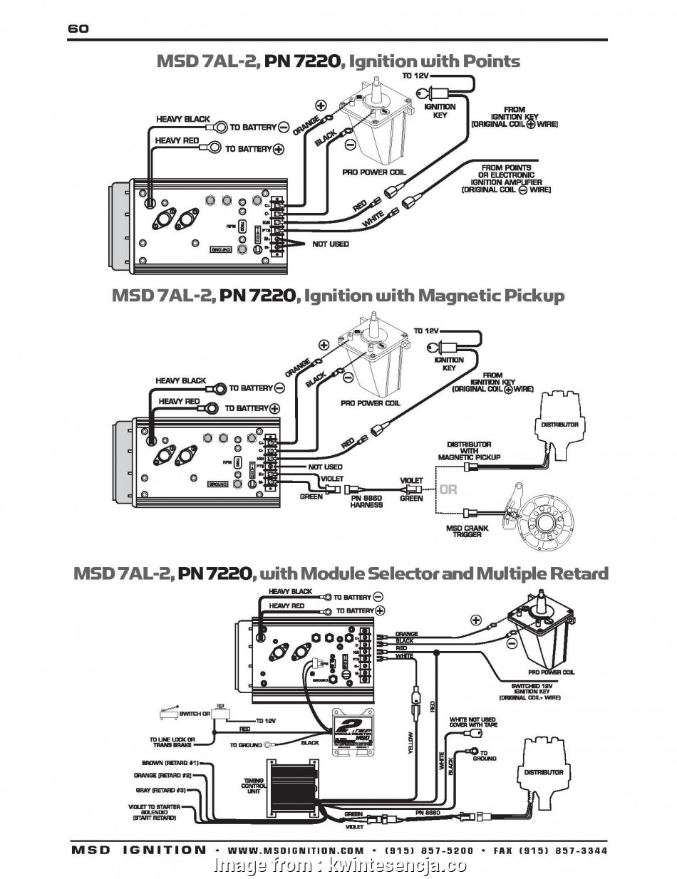 Wiring Diagrams  Msd  Ignition Fantastic Msd Ignition