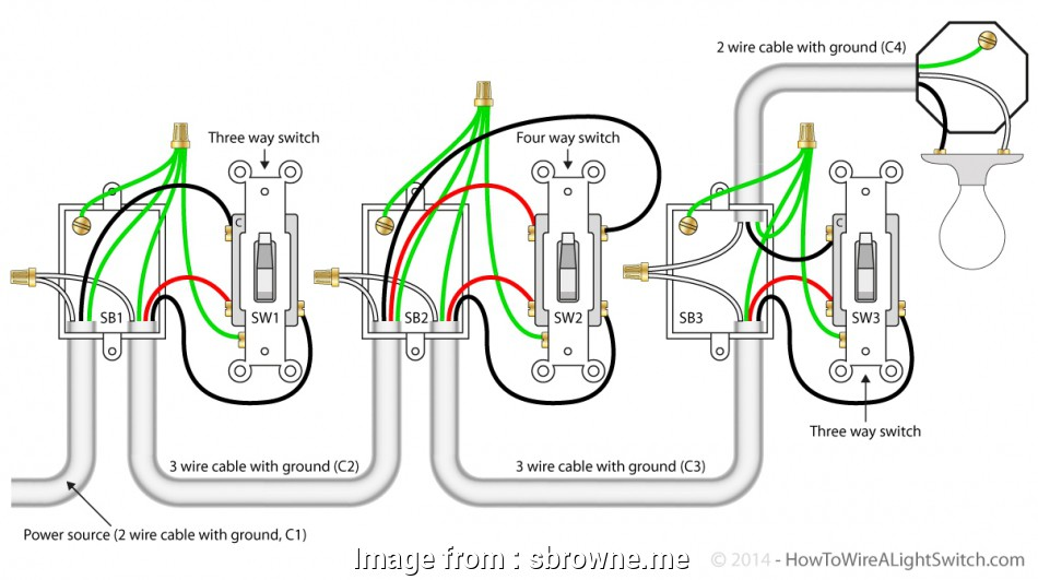wiring light switch end of run Unique Wiring Diagram, Switch At, Of, 4, With Multiple 16 Perfect Wiring Light Switch, Of Run Solutions